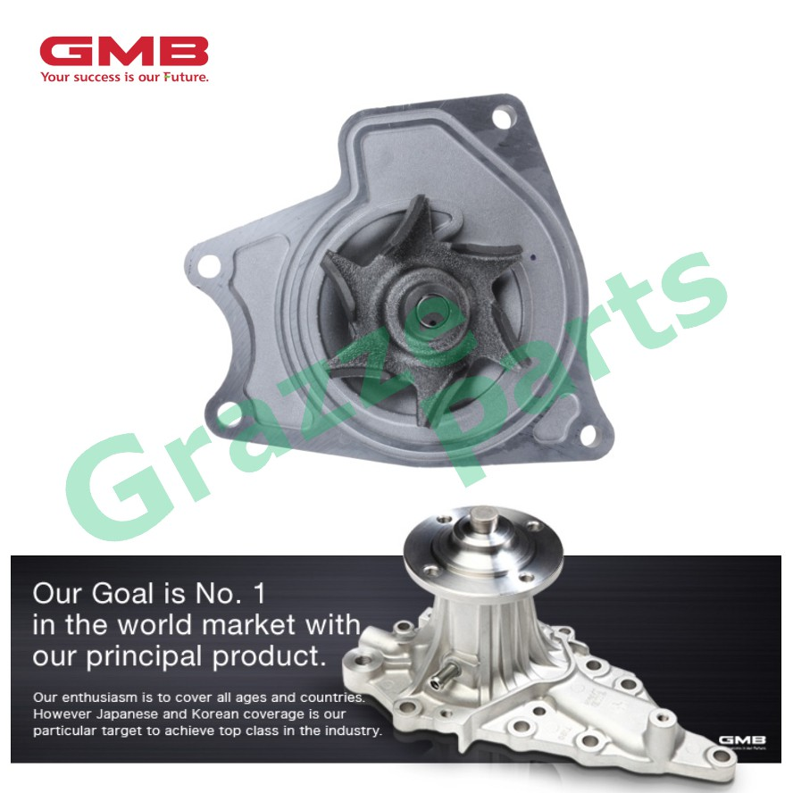GMB Engine Water Pump GWM-57A for Mitsubishi Pajero 4M40