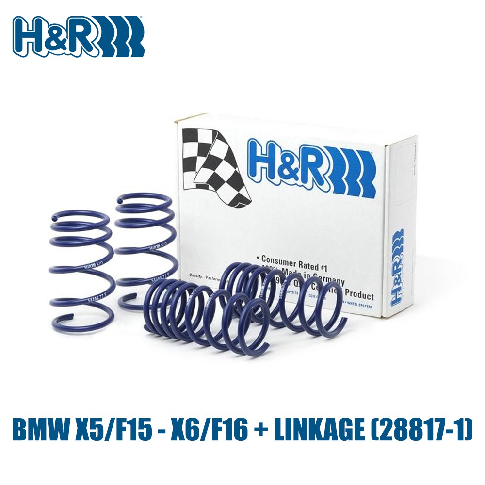 BMW X5/F15 - X6/F16 + LINKAGE - H&R Spring - (28817-1)