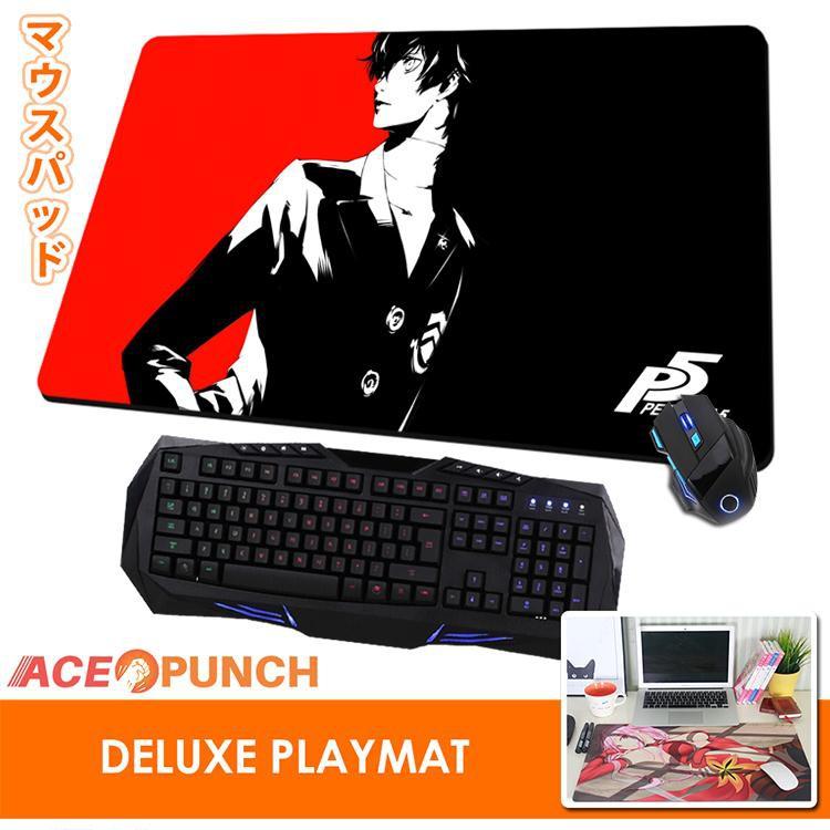 Persona 5 Anime Large Mouse Pad Mat Amamiya Ren Gaming Play Mat Keyboard Mat