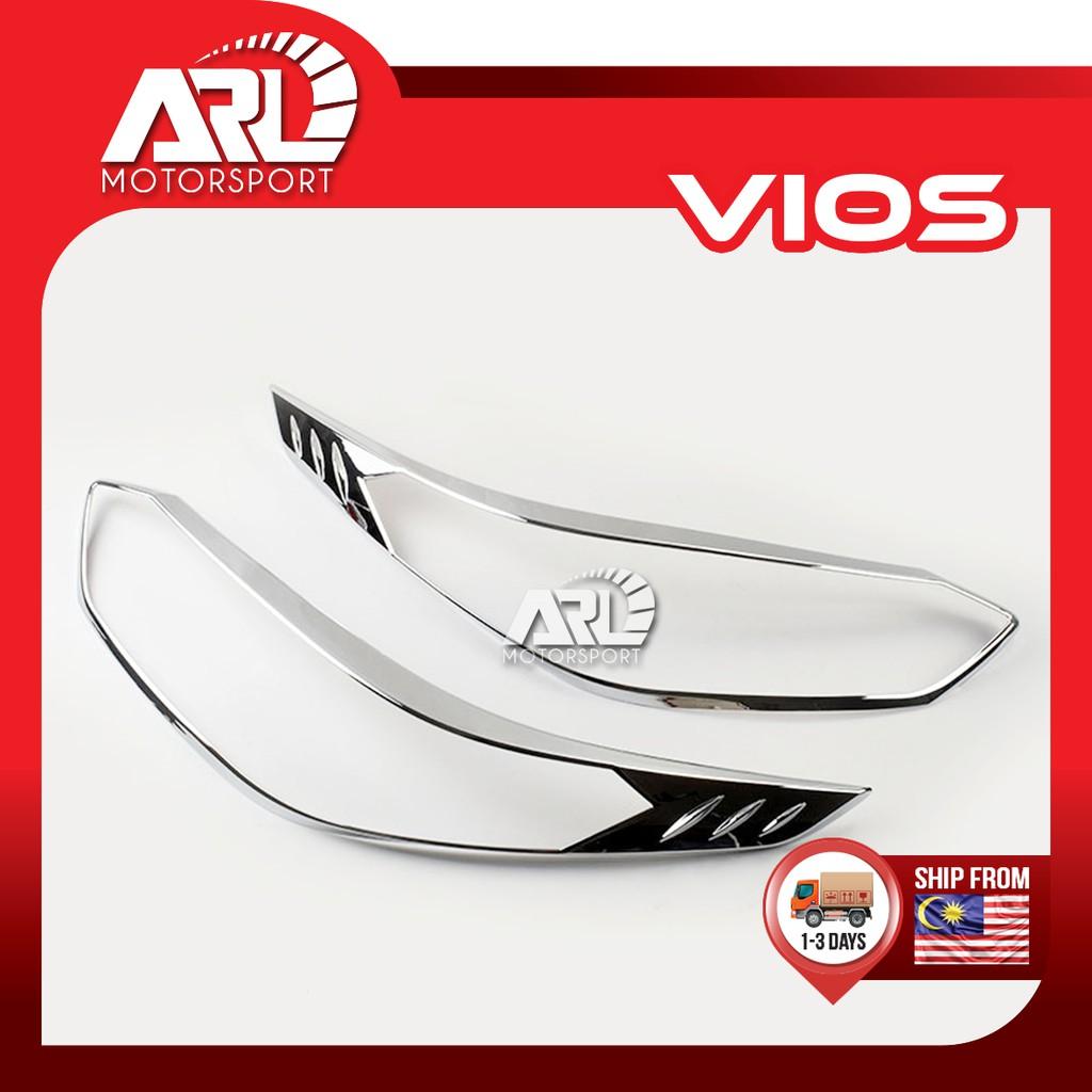 Toyota Vios (2019-2020) NSP151 Head Lamp Cover Chrome Car Auto Acccessories ARL Motorsport