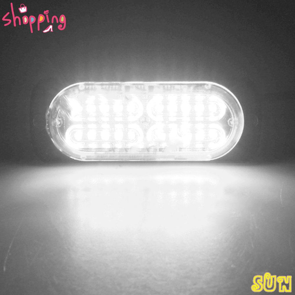 Sun Ultra Thin High Power Waterproof 12v 24v 20 Led Car