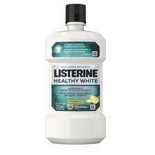 Listerine Healthy White Mouthwash 250ml