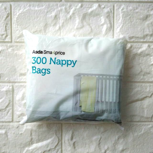 d48c88cf39 Asda Odour Neutralizing Fragranced Scented Nappy Diaper Pampers Plastic Bag  Sack