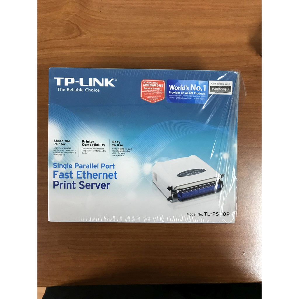 Cheapest TP-Link TL-PS110P Single Parallel Port Fast Ethernet Print Server