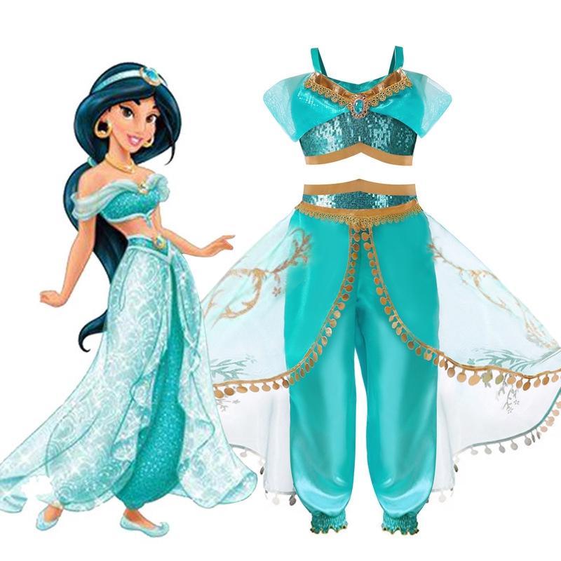 82f8f1466474b Aladdin dresses up Princess Jasmine dress Disney's Halloween set