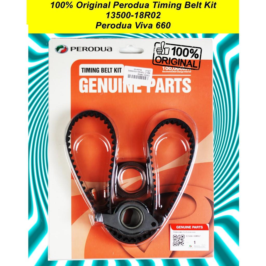 100% Original Perodua Viva 660 Timing Belt Kit