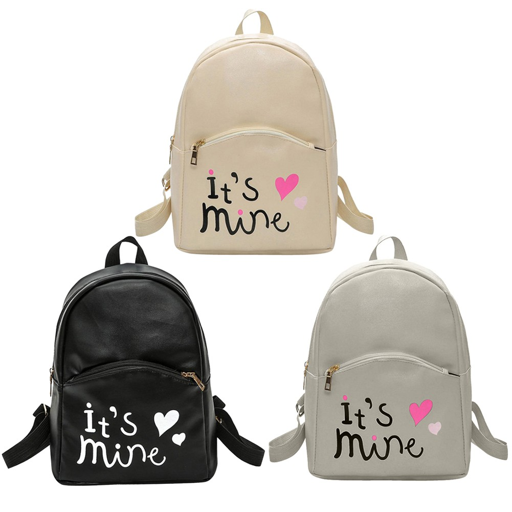0b8378d25068 Original Quality Adidas Design Women Backpack PU Leather Bag MINI Travle Bag