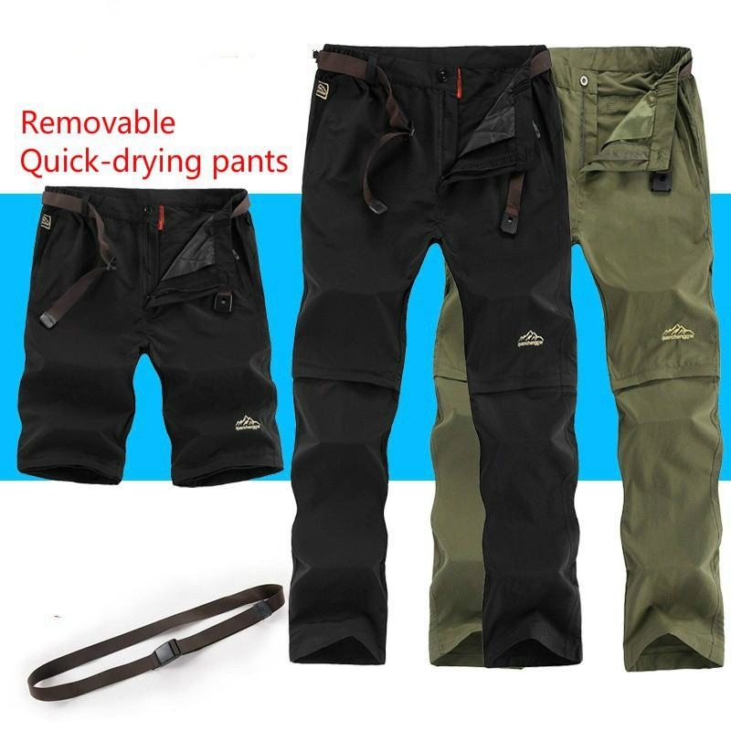 e4aba276c4c1a ProductImage. ProductImage. Fishing Men Camping Trekking Quick-drying Outdoor  Sport Climbing Hiking Pants