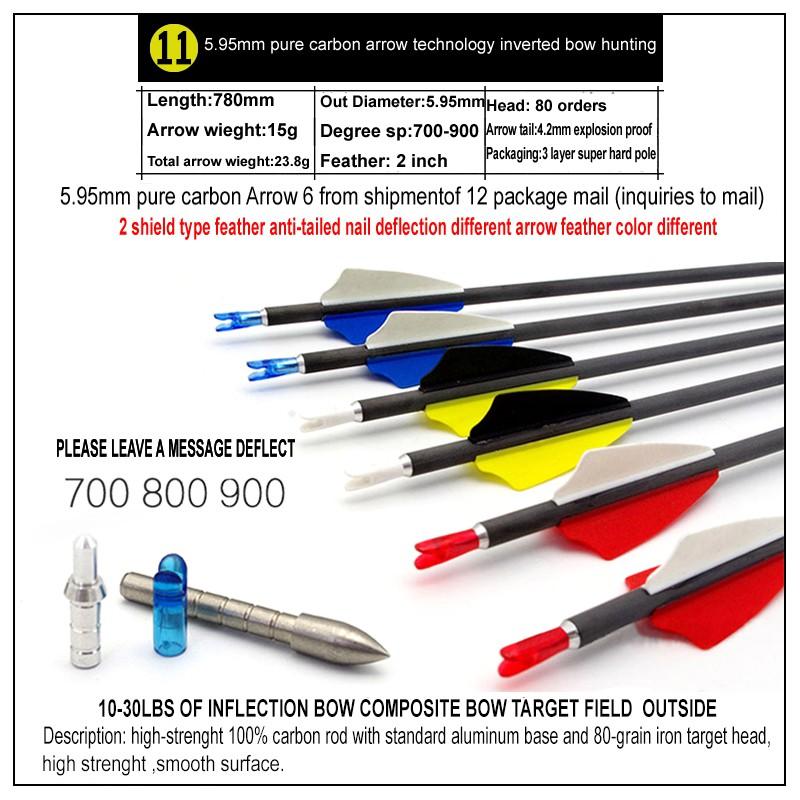 12pcs Aluminum Inserts for Archery Carbon Arrow Shaft Point 6.2mm Diameter Base