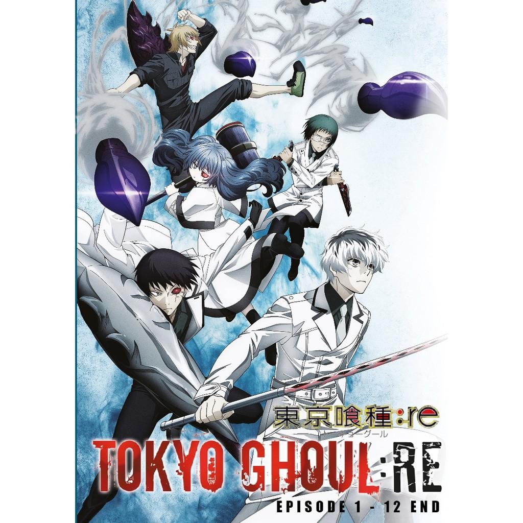 Anime dvd tokyo ghoul re season 31 12end shopee malaysia