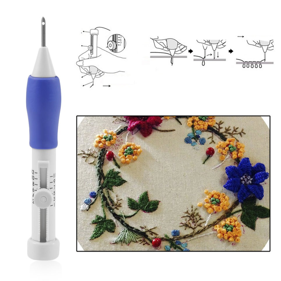 DIY Sewing Stitching Punch Needle-Set Punching Newest Embroidery Craft Tools Hot