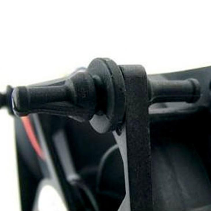 32 PCS Rubber Anti Vibration Mount Screw Pin Rivet,for PC Case Fans Anti Vibr BE