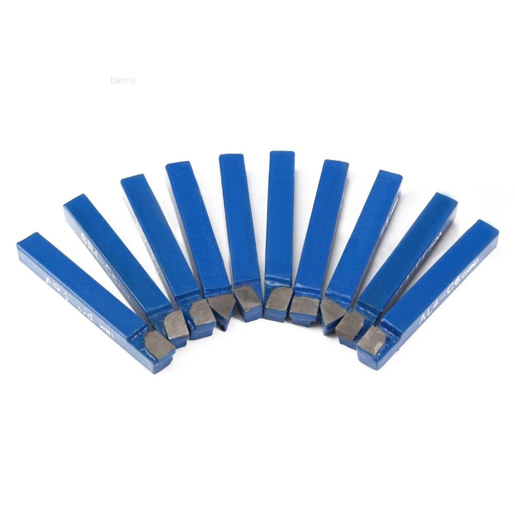 """Carbide Lathe Tools 1//4/"""" Metals Tip CNC C-6 AR4-C6 BR4-C6 C4-C6 Durable"""