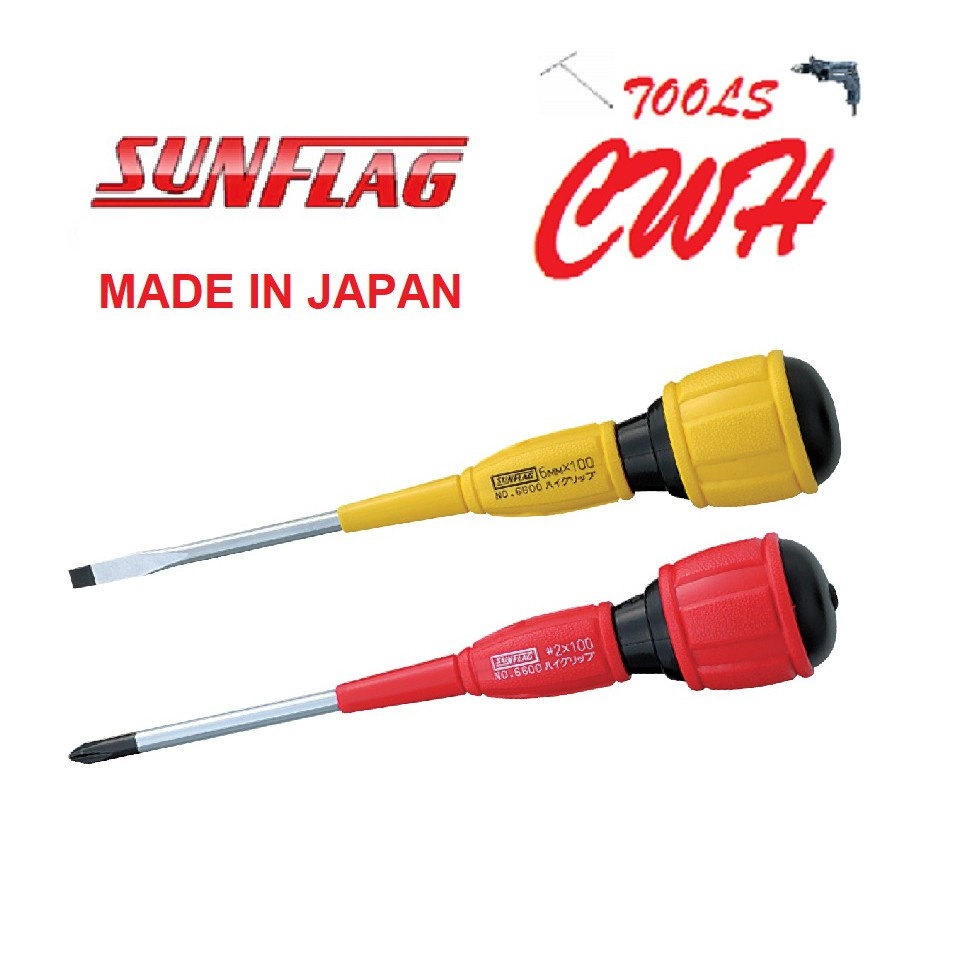 SUNFLAG JAPAN DOUBLE CUSHION SCREWDRIVER SCREW DRIVER PHILIPS SLOTTED TOTAL SATA SATAGOOD REMAX TOPTUL WIHA XIAOMI
