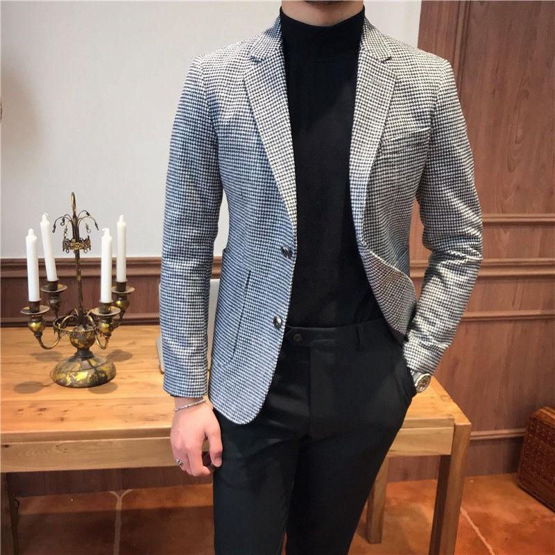 Flash Apparel Mens Barabas Designer Woven Designer Dress Shirt Blue Multicolor Abstract Geometric Design Slim Fit 9026