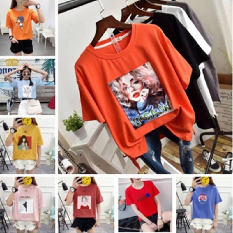 Pakaian Kilang Pasaran Borong Jualan Langsung Pakaian Musim Panas Gadis Gadis Lengan Pendek T Shirt Gerai Borong Cepat T Shopee Malaysia