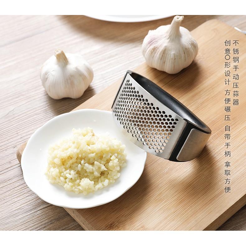 Manual Garlic Press Non-Slip Garlic Twist Kitchen Gadget Tool ...