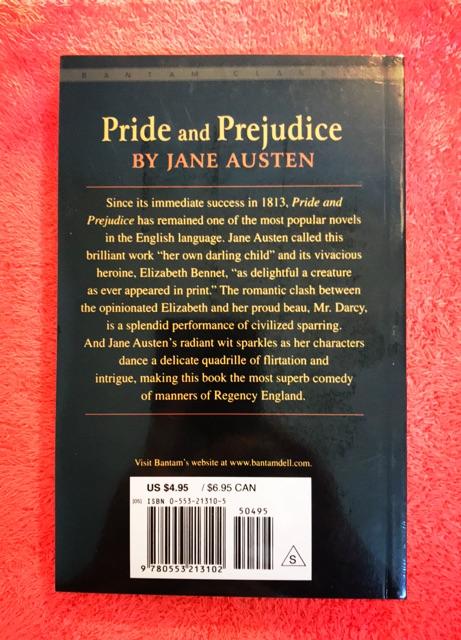 【Ready Stock】Pride And Prejudice