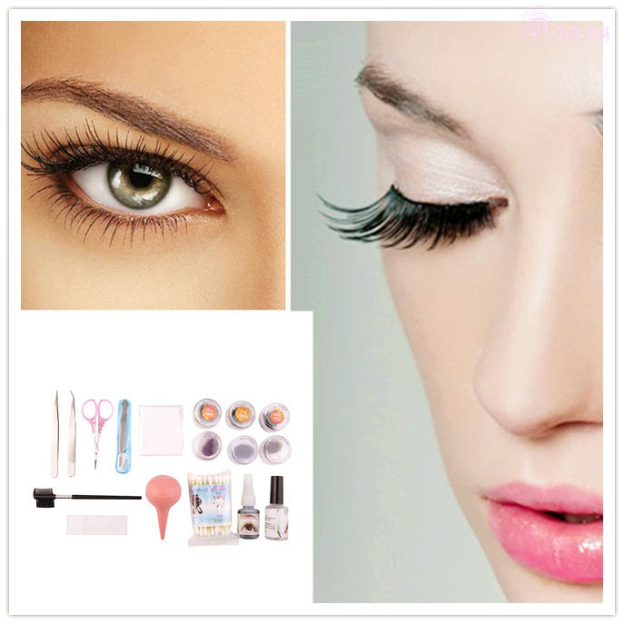 a104c4225f5 ProductImage. ProductImage. Professional False Extension Eyelash Glue Brush  Kit with Case Box Salon Tool