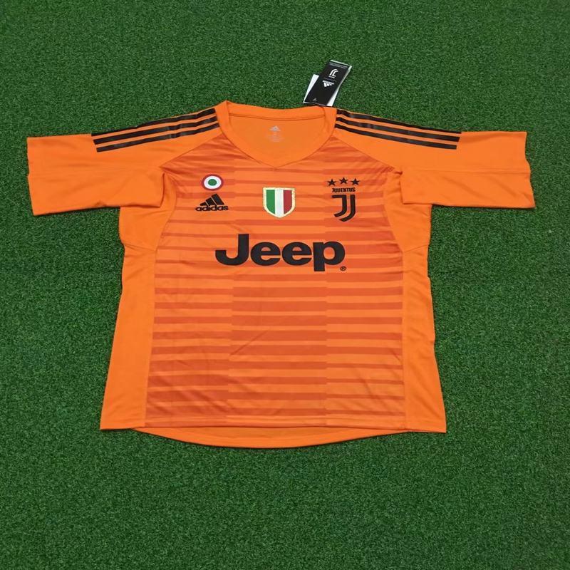 timeless design 696da 8420b 2018 2019 juventus goalkeeper soccer jersey