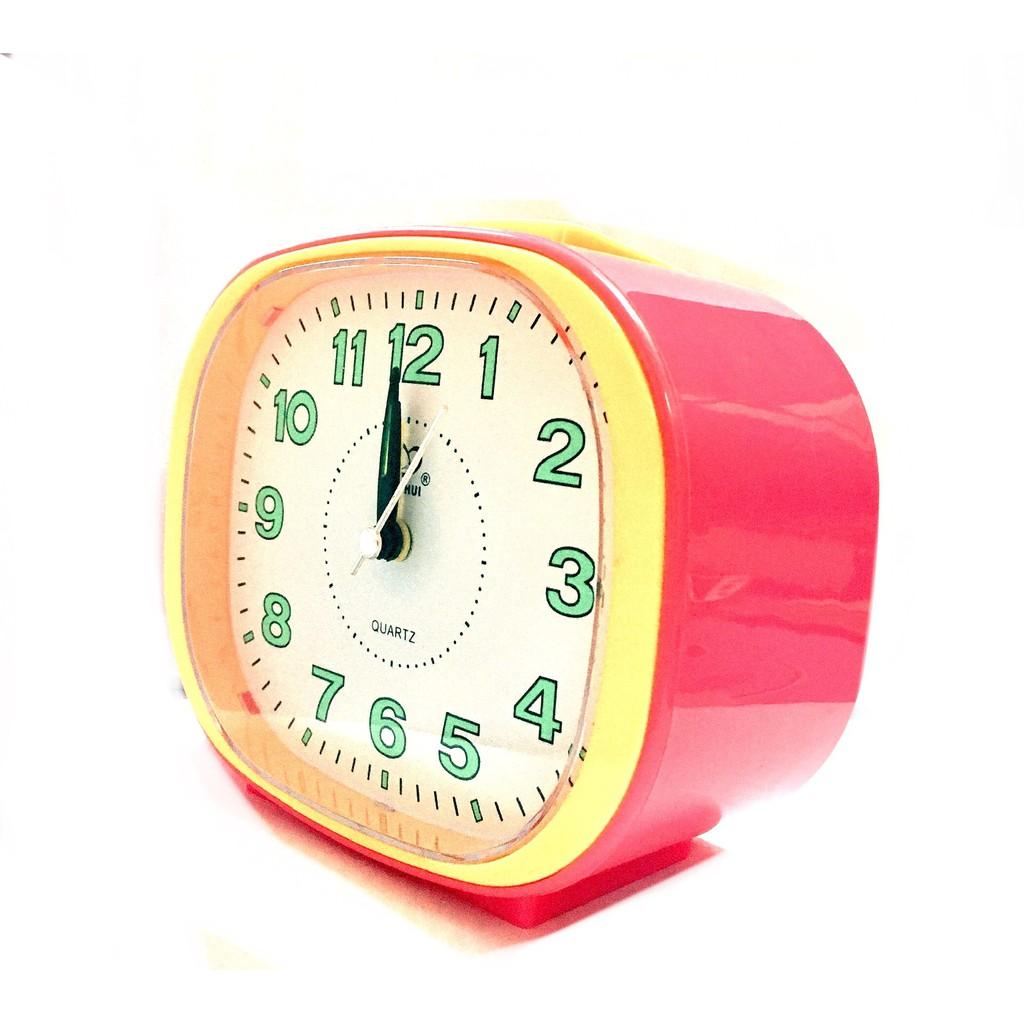 Globe Loud Sound Alarm Clock With Night Light BH107W