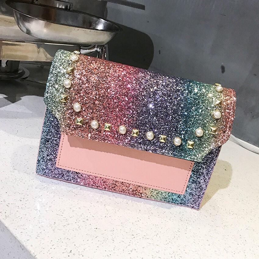 04bd020073 READY STOCK😍CLICKZON Glory Pearl Sling Handbag Bag Tangan Sling Bags Tote  Shoulder
