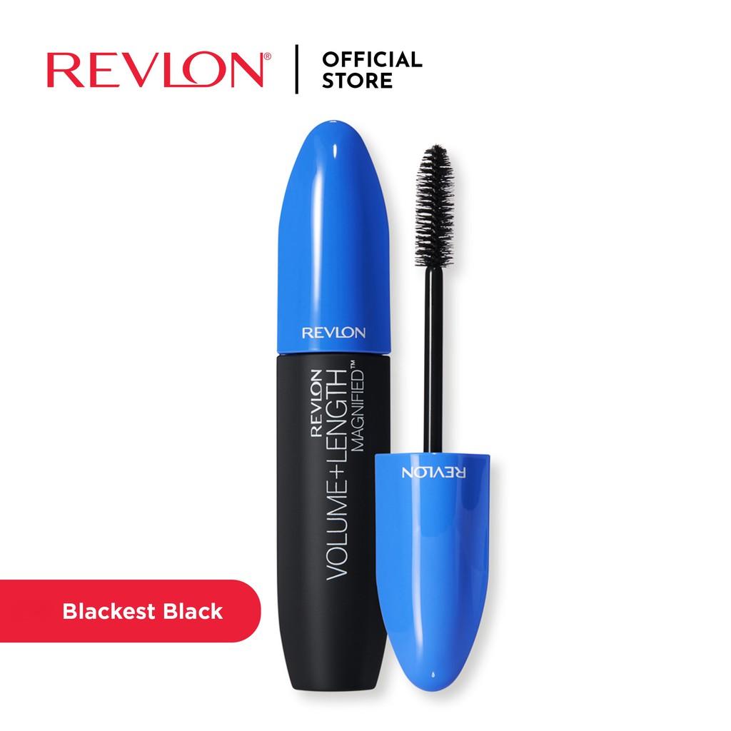 Revlon Mascara Volume & Length Blackest Black
