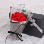 GDeal 11pcs Scented Soap Rose Bouquet Birthday And Valentine's Day Gift Box Flowers With Box Jambangan Bunga جمبڠن بوڠا