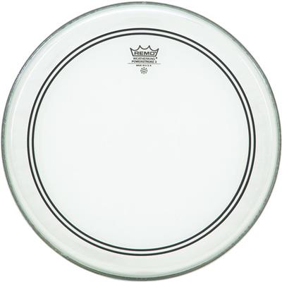 "Remo Drum Skin Powestroke Coated 10"" Inch ( P3-0110-BP )"