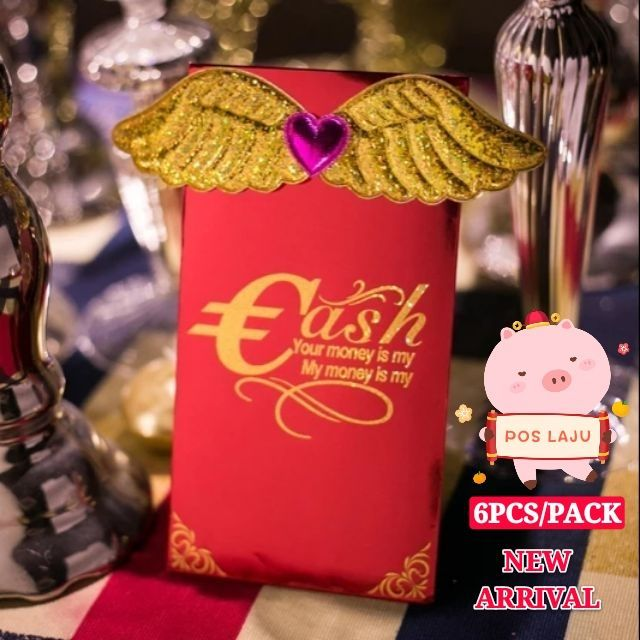 [ READY STOCK ] Personality Creative Chinese New Year Red Envelope Jualan Murah Storage Box