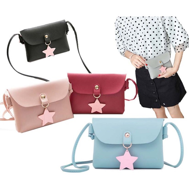 ef00d914cf2e Lucky Star Ladies Small Sling Bag