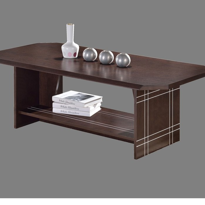 [CLEARANCE] Scandinavian thick top wooden coffee table/ meja kopi