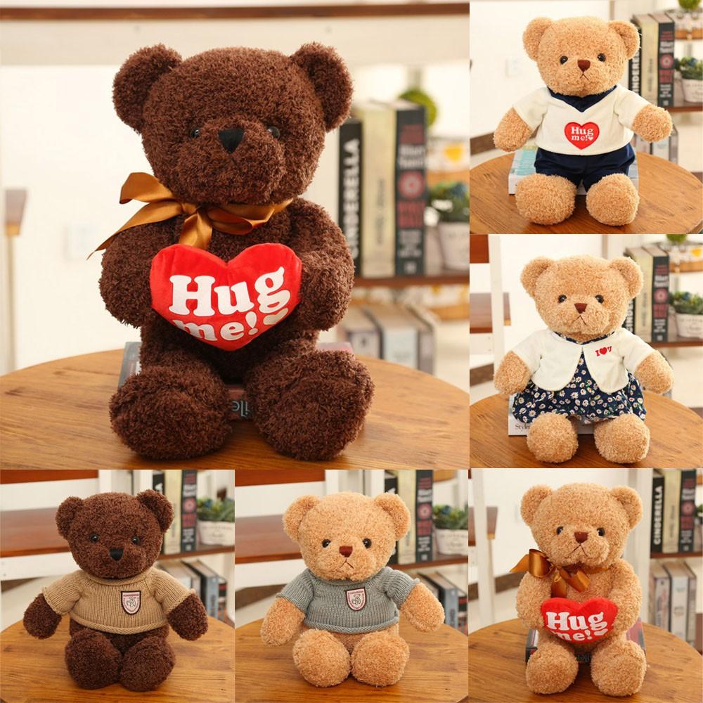 1ec5937850d leeyo-Teddy Bears Stuffed Plush Mini 30CM Bear Plush Gifts Children Kid