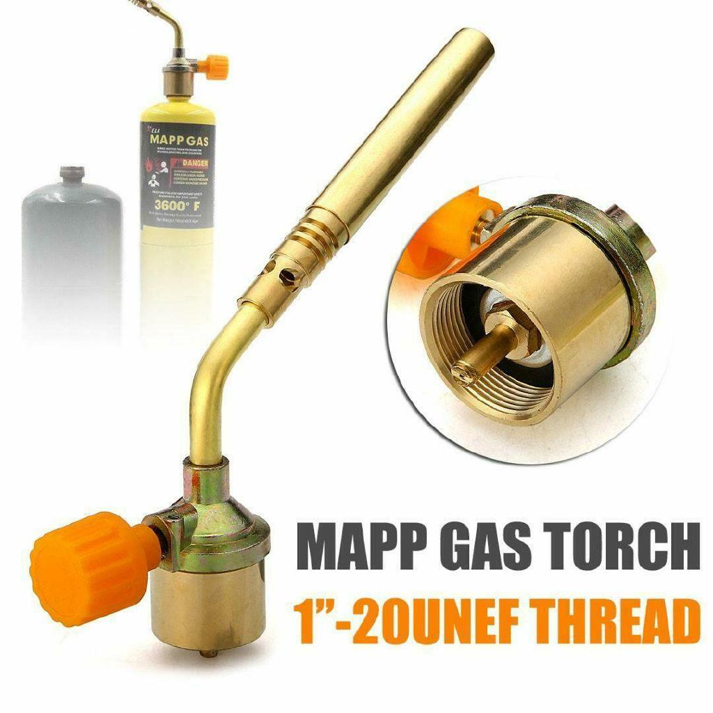 1 Propane 1 MAPP Map Plus Bottle Gas Cylinder plumbers blow torch jet burner