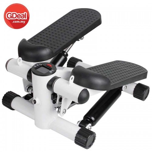 2-In-1 Exercise LCD Monitor Fitness Stepper With Switchover Technology