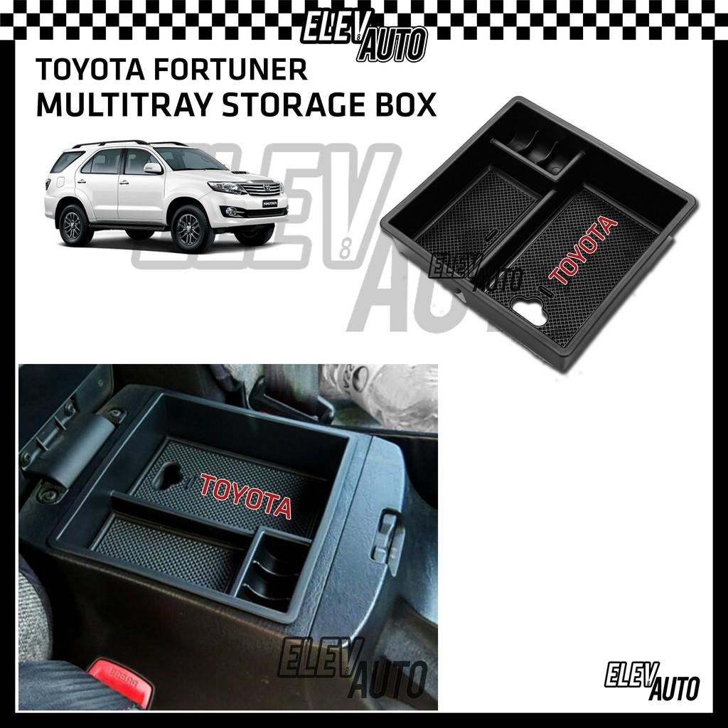 Toyota Fortuner (2005-2015) Armrest Center Console Multitray Storage Box