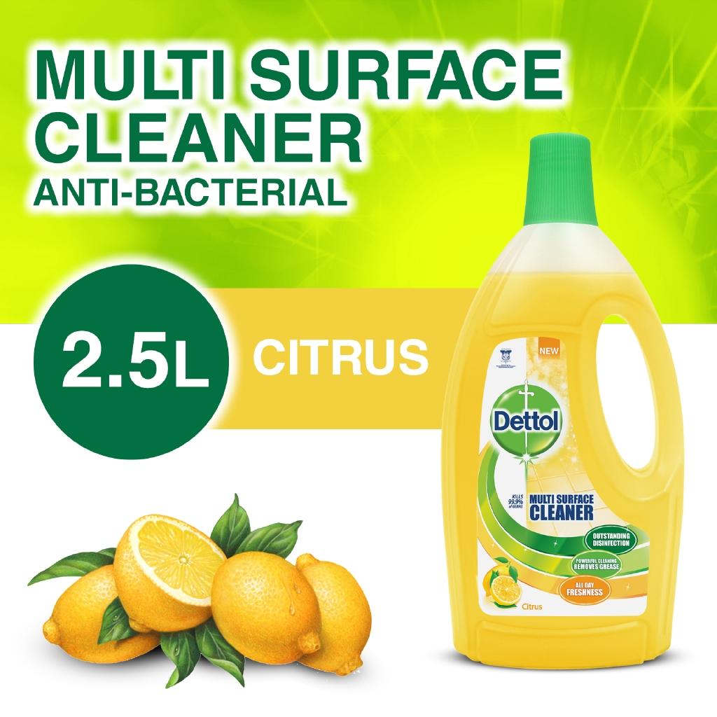 Dettol Multi Action Cleaner Citrus 2.5L