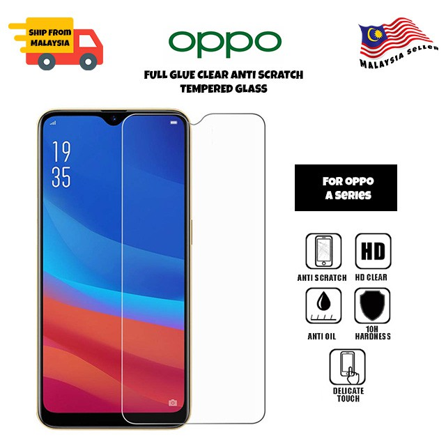 Oppo A12/A12e/A92/A7/A5s/A3s/A83/A77/A57/A37/A71/A71k/Neo 7/A9 2020/A5 2020 9H Clear Tempered Glass