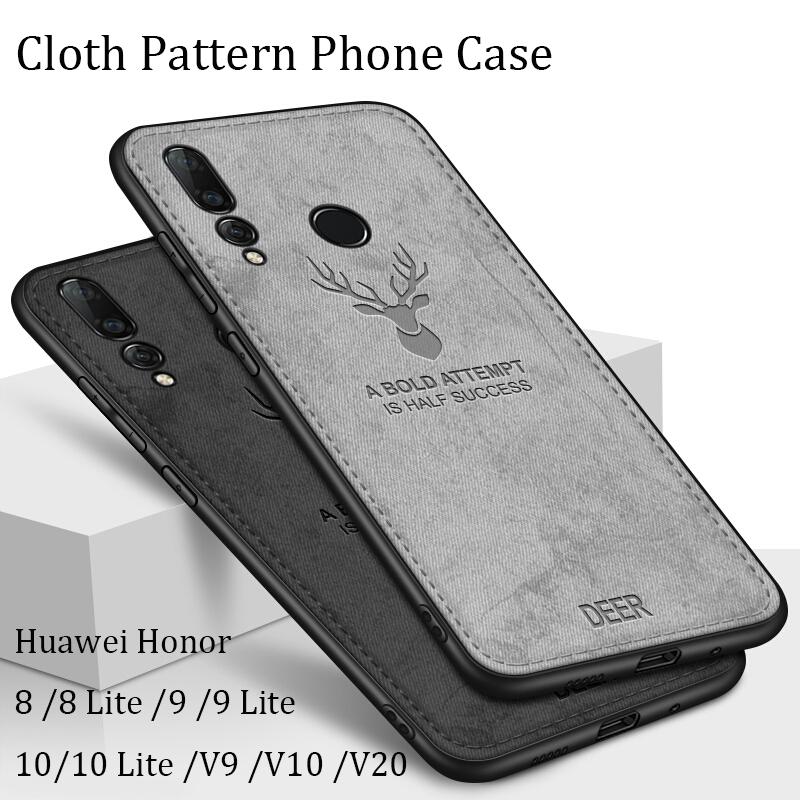 Casing Huawei Honor 20 /V20 /V10 /V9 /8 /8 Lite /9 /9 Lite /10 /10 Lite  Case Deer Soft Cover