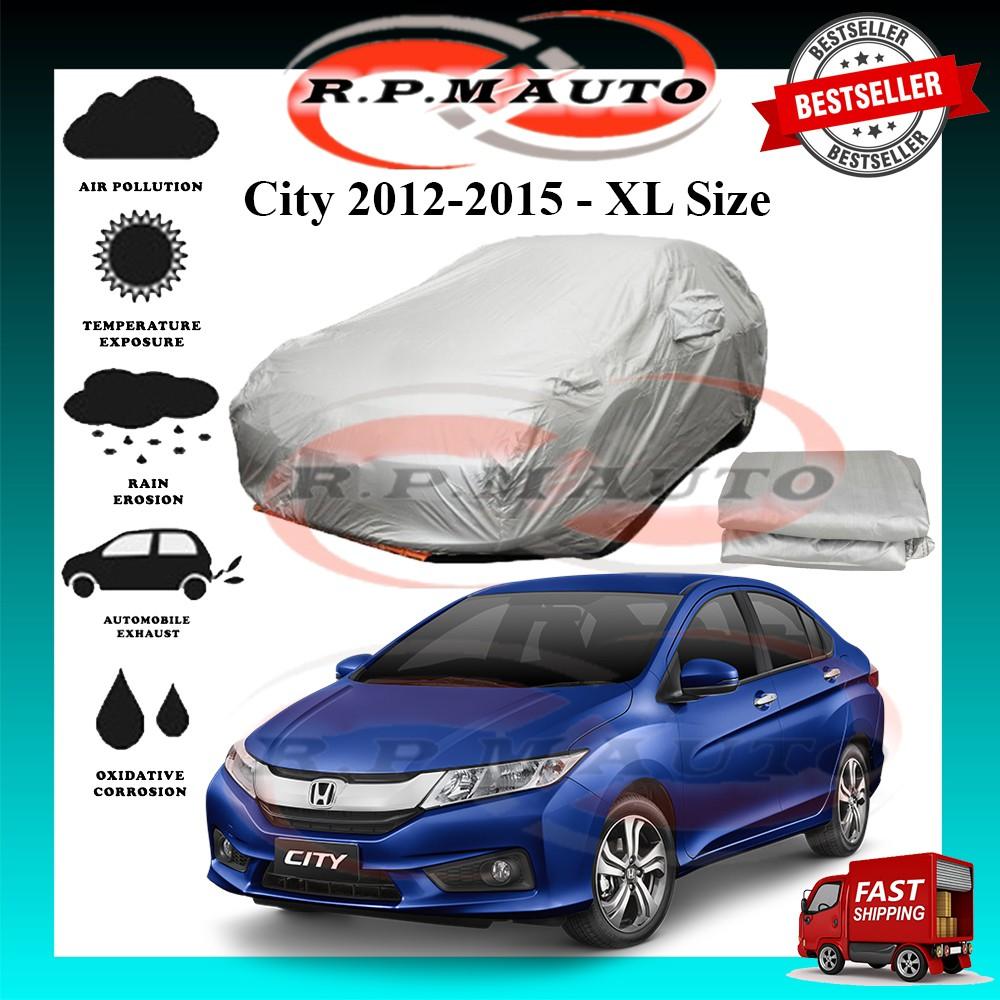 Honda City 2012-2015 High Quality Yama Car Covers - Size XL (490x180x119cm) selimut kereta city 2012 car cover city 2015