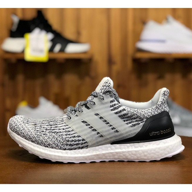"""timeless design 1f8bf 4bb5b Adidas ultra boost ub 4.0 """"Multicolor"""" men s and women s knitted running  shoes   Shopee Malaysia"""
