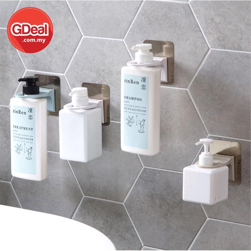 GDeal Toilet Punch Free Bottle Holder Hook Shower Cream Shampoo Bottle Holder