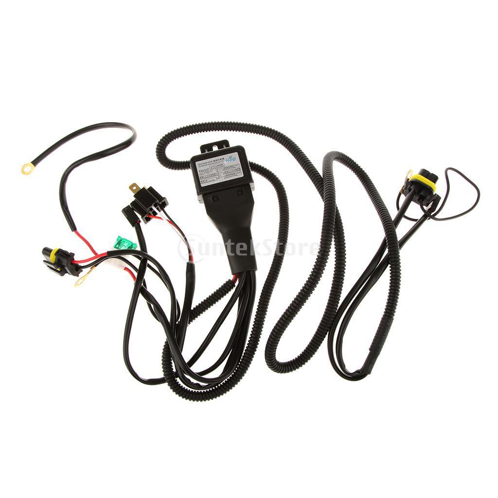 H4 Headlight Fidim Light Relay Wiring Harness System 2 Headlamp Oem 4 Headl Bulb Socke Shopee Malaysia