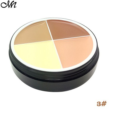 (CLEARANCE) Beauty 4 Colors Matte Cream Concealer Palette Foundation (03#)