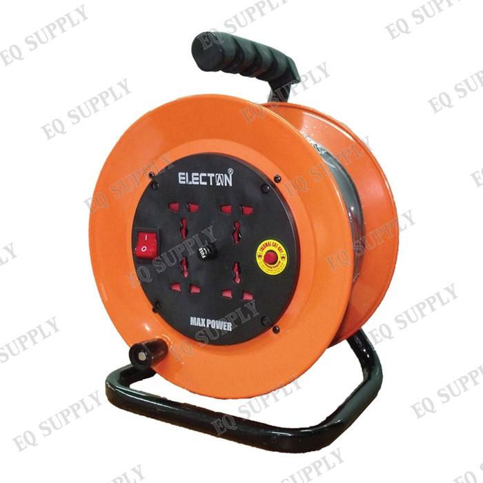 ELECTON ล้อเก็บสายไฟ VCT 2x2.5  ยาว 30 ม. รุ่น EH3