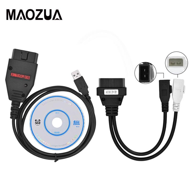 ECU Remap Flasher Tool EOBD OBD2 Adapter Galletto 1260 ECU Chip Tuning Car  Diagnostic Cable