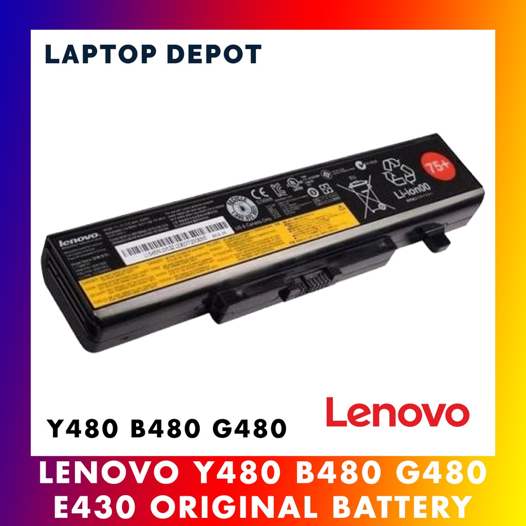 [100% ORIGINAL] Lenovo Y480 B480 G480 E440 E430 E431 E435 Laptop Battery