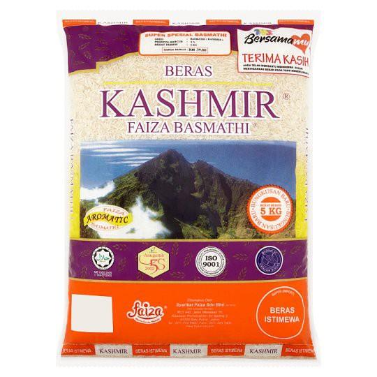 Kashmir Beras Faiza Basmathi Rice 5kg