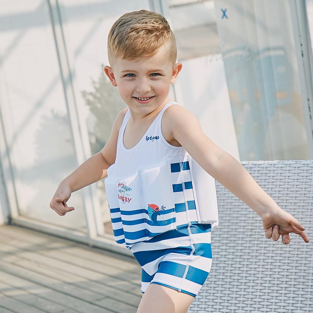 f49f0a99d3 Yizi children's swimwear Girls baby baby one-piece swimsuit Xiaozhong big  boy tr | Shopee Malaysia