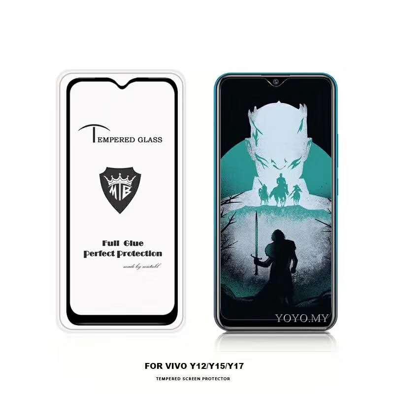 Tempered Glass For VIVO V15 Pro V9 V7 Plus Y12 Y15 Y17 Y81 Y83 Y91 93 Y95  V11i V11 Screen Protector Protective Flim